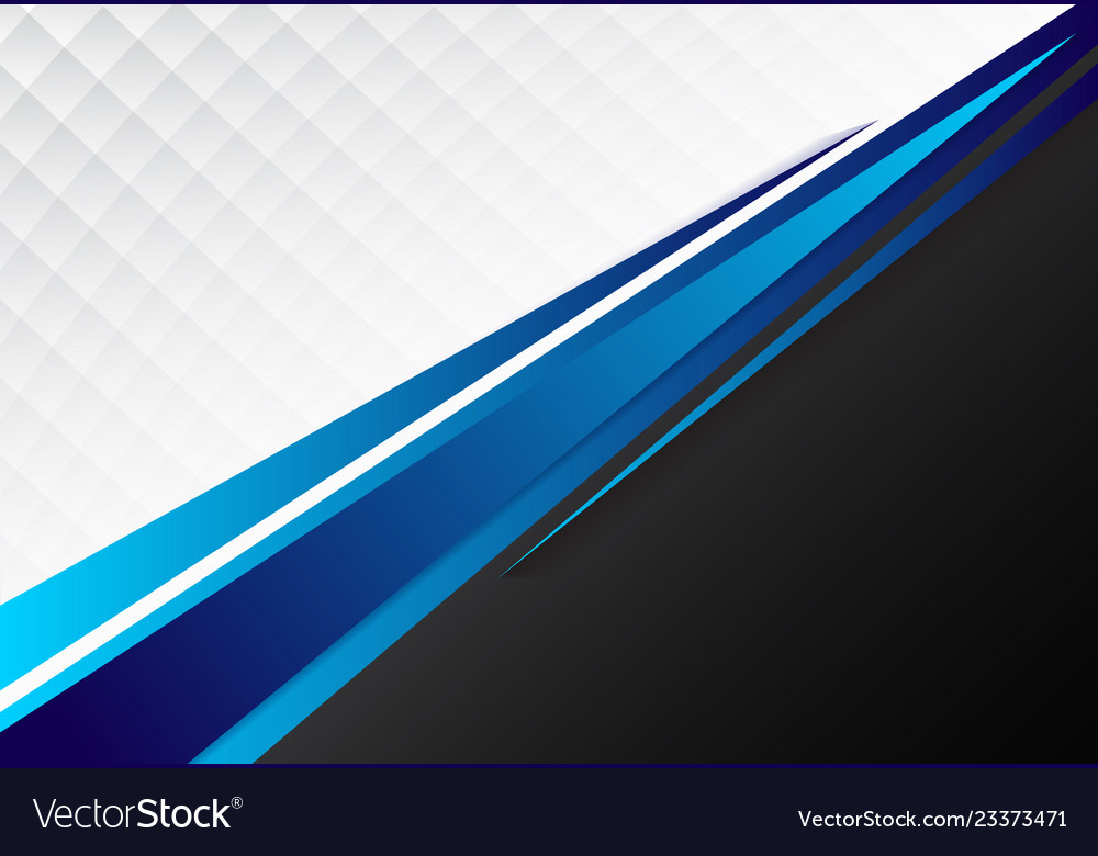 Template corporate concept blue black grey and