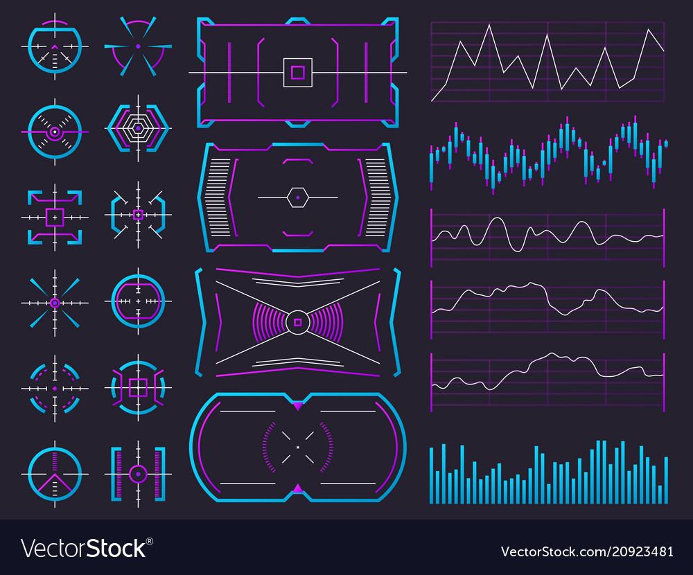 futuristic user interface design professional user