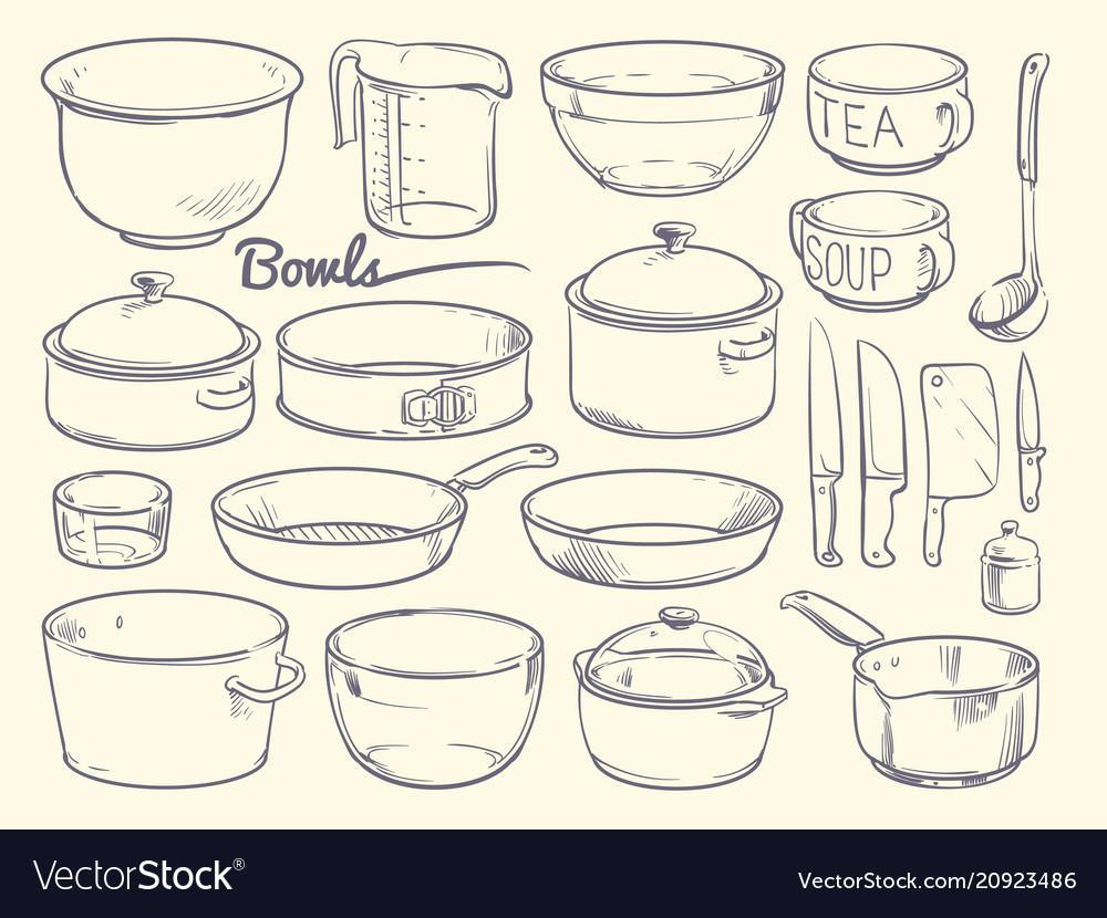 Doodle Cooking Equipment And Kitchen Utensils