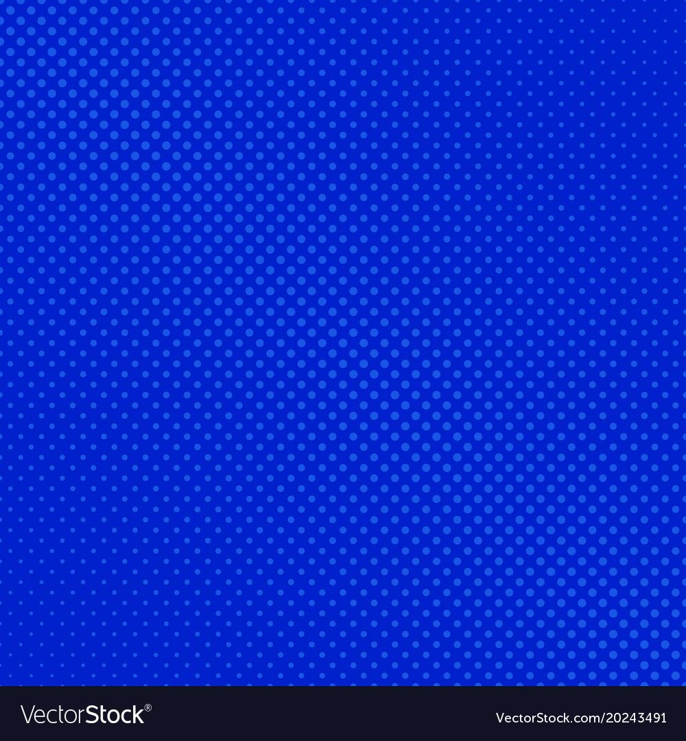 Abstract geometric halftone dot pattern