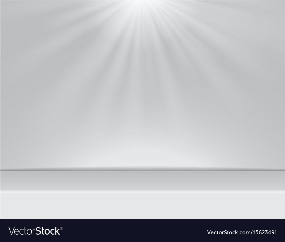 Room Background With Lighting Vector Image