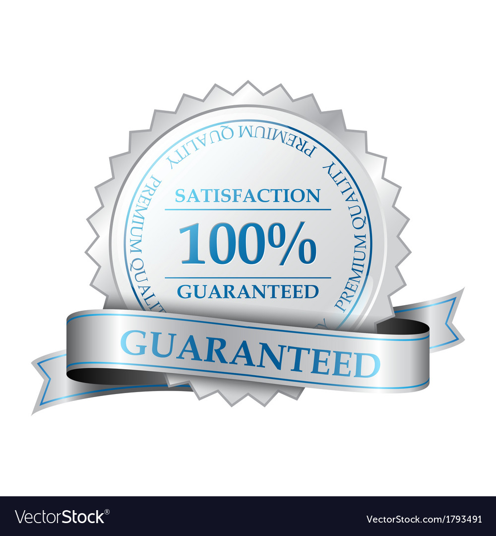 Premium guarantee label