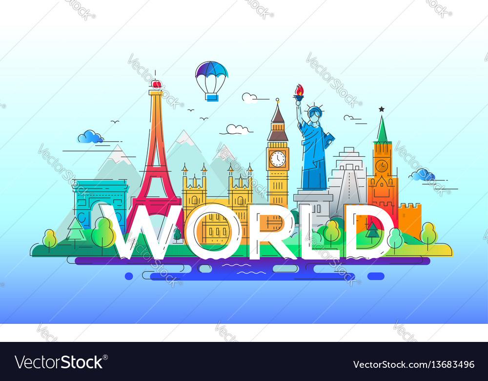 World - line travel
