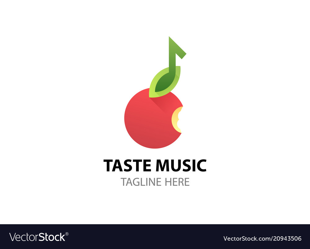 Logo for music web site studio radio store