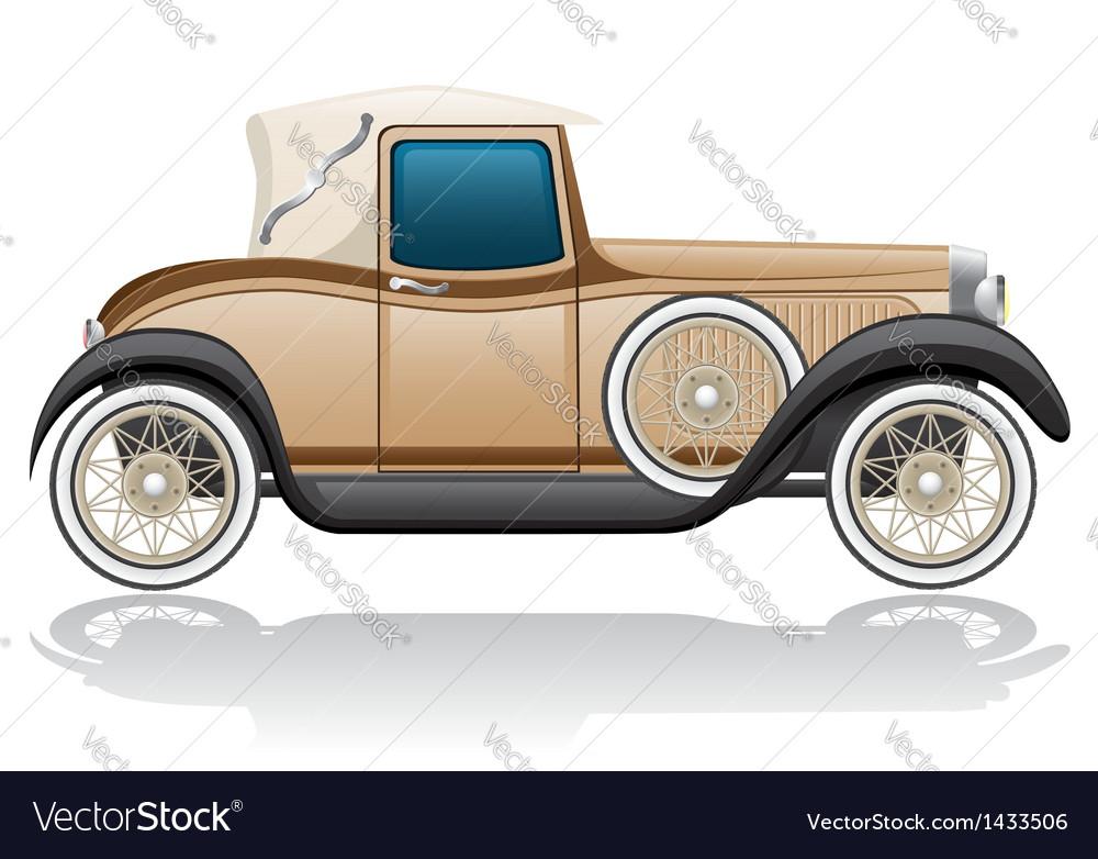 Old retro car