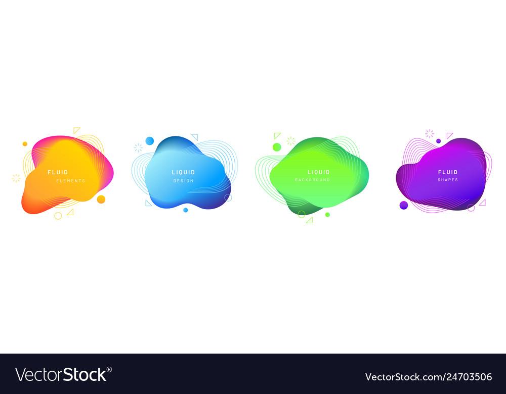 Set isolated fluid or liquid gradient blobs