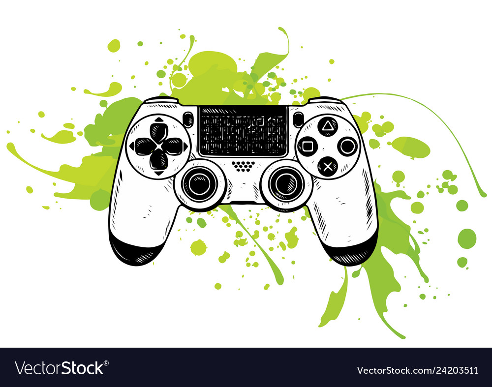 Gamepad for game consolethe joystick for the