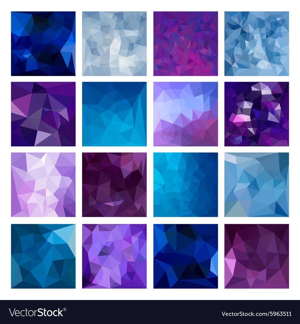 Polygonal Geometric backgrounds