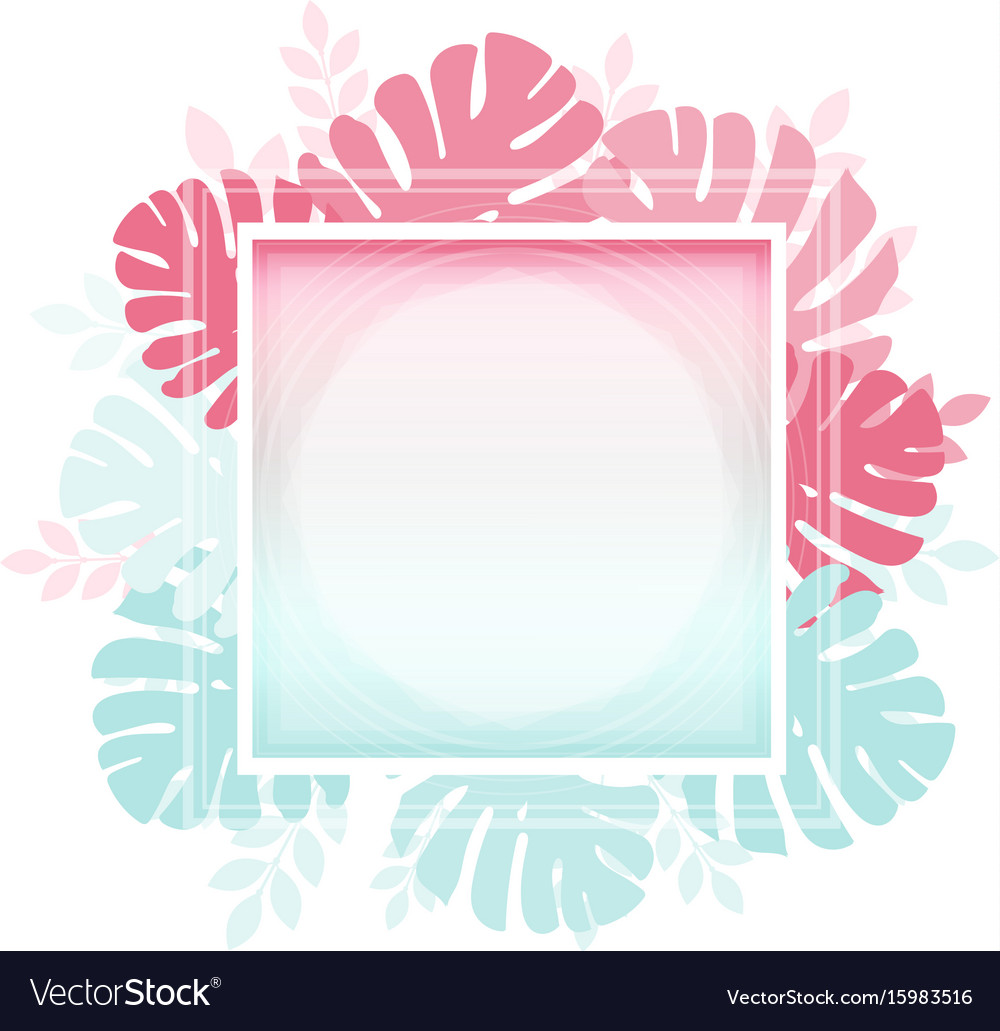 Abstract template with tender gradient and vector image