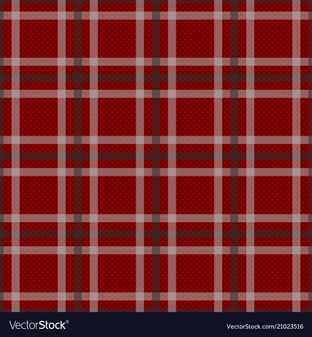 Red tartan with white and black stripes background