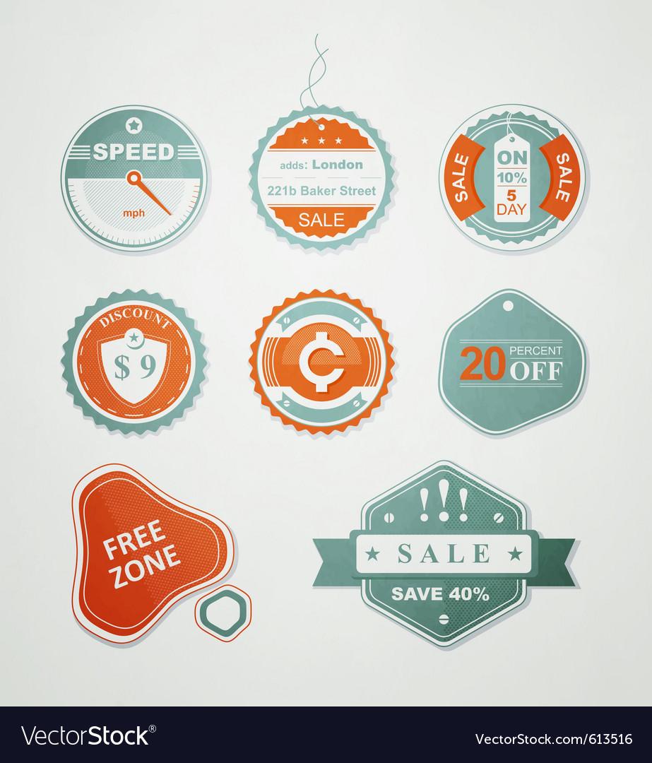 Retail sale labels