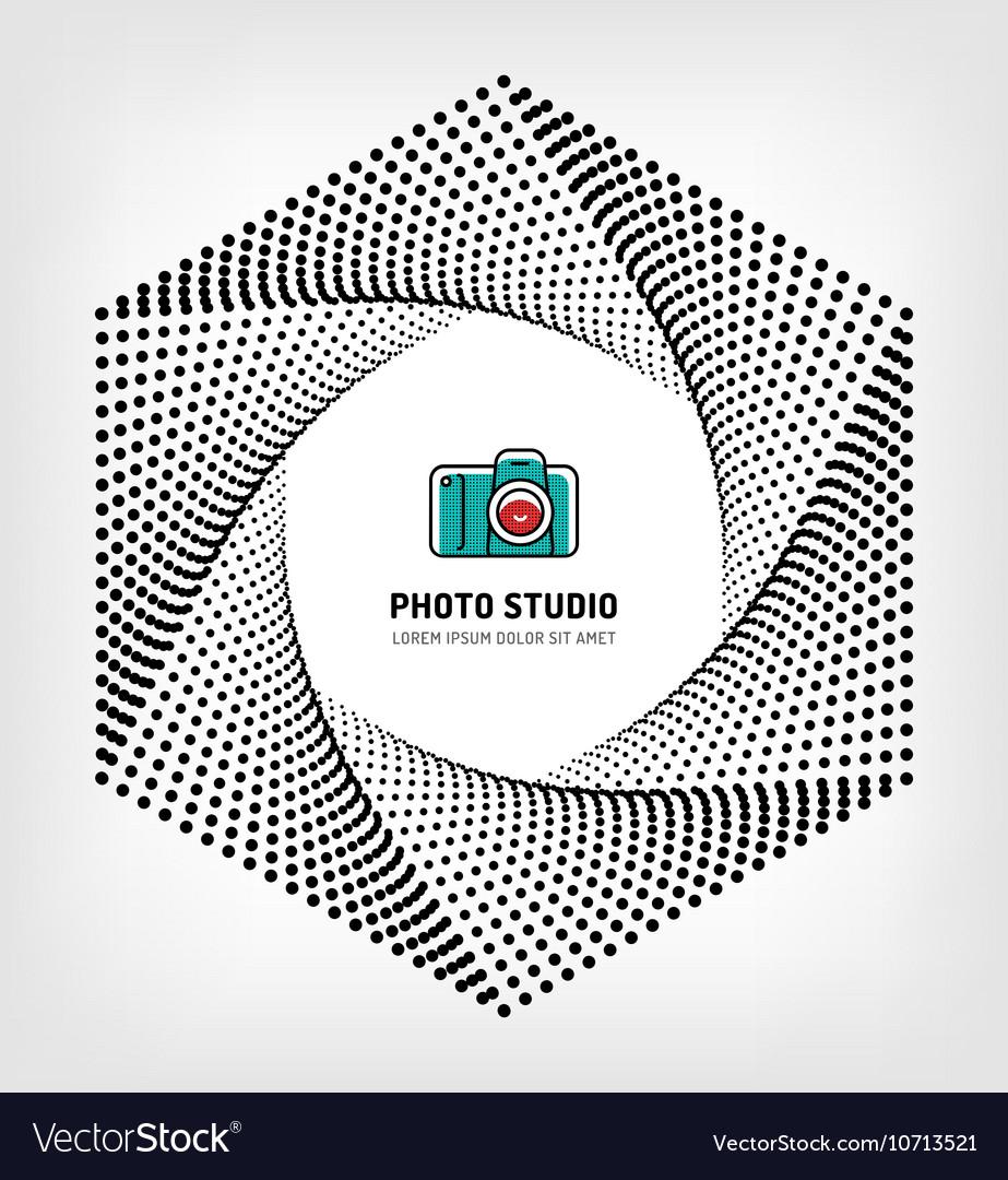 Photo studio logo design template