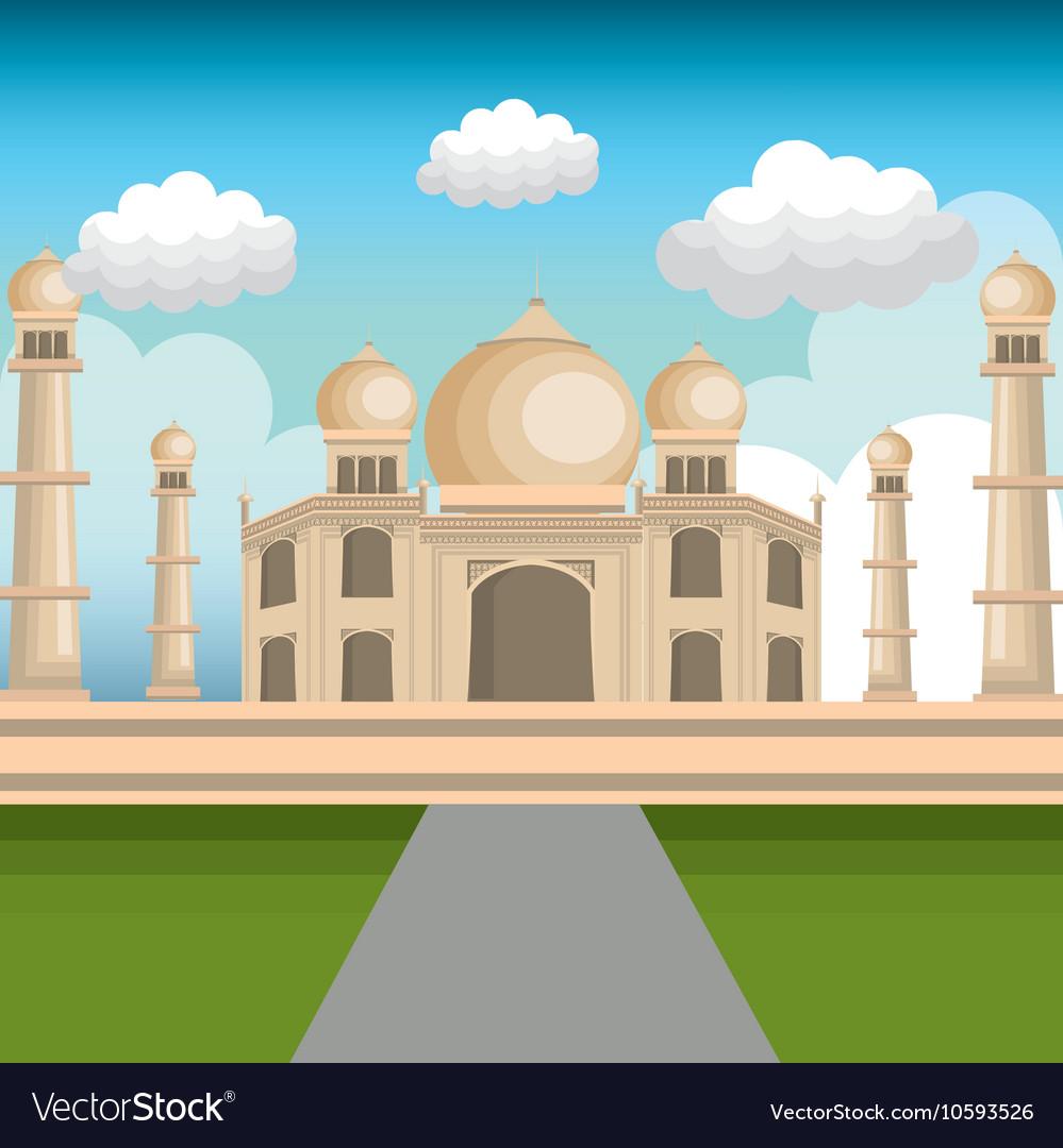 Monument india taj mahal design