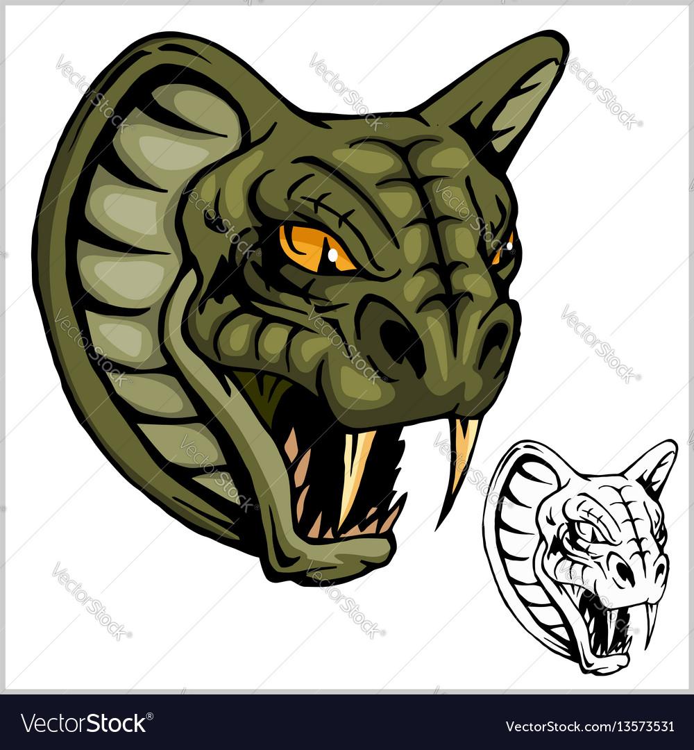 Cobra head mascot
