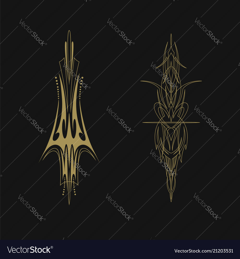 Pinstriping vehicle graphic decorative vinyl