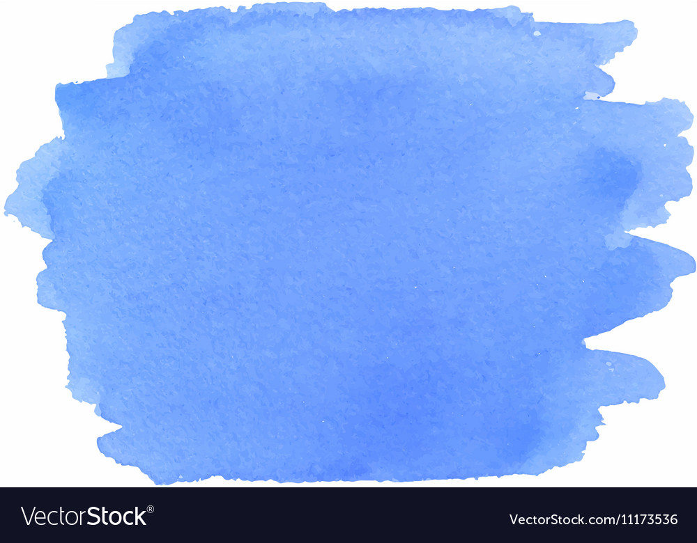 Abstract watercolor texture in blue color