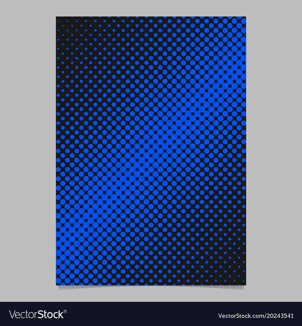 Geometrical halftone circle background pattern