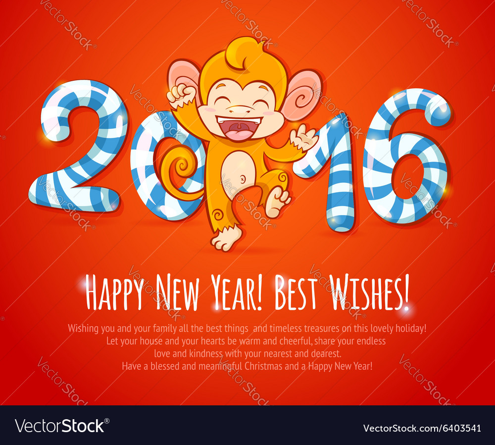 New year Chinese celebration card