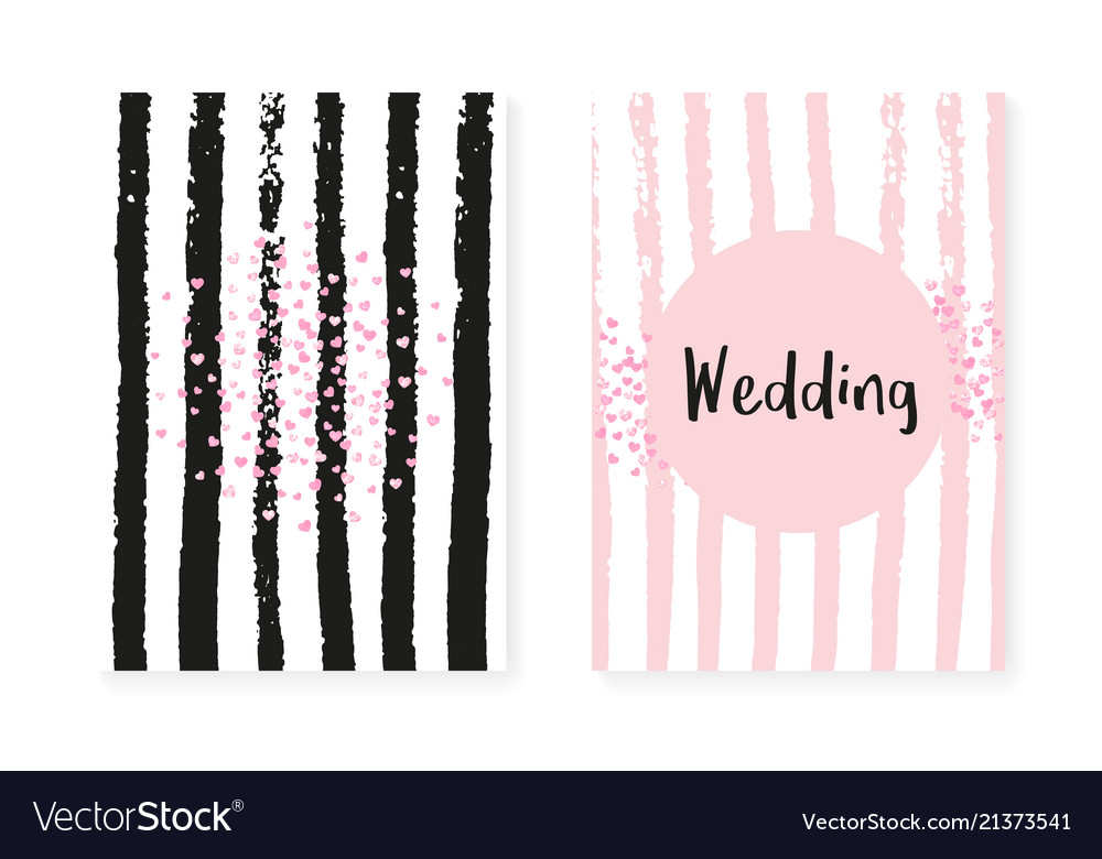 Pink glitter sequins with dots wedding and bridal