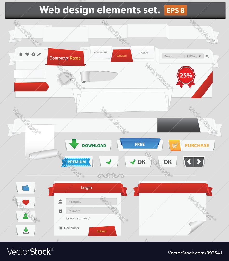 Web elements paper