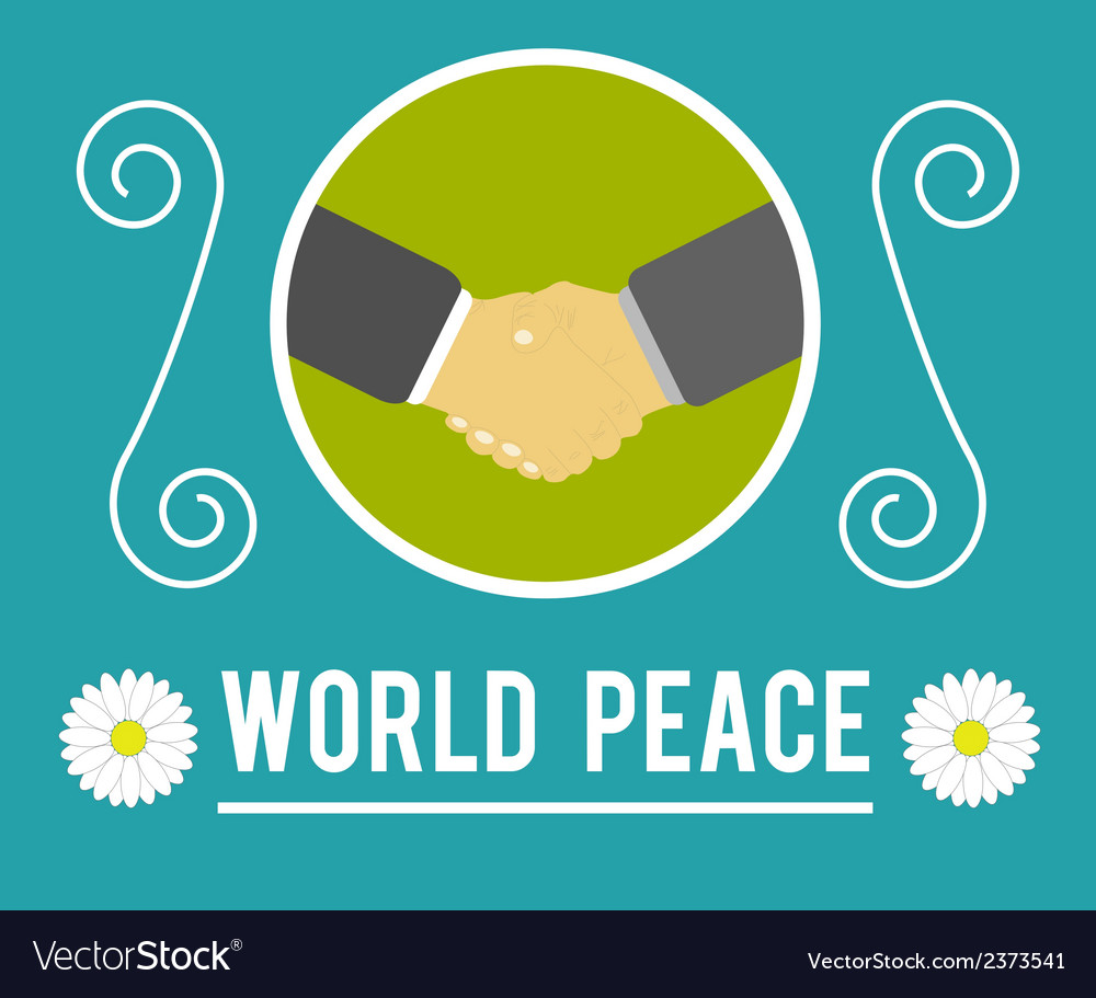 World peace concept