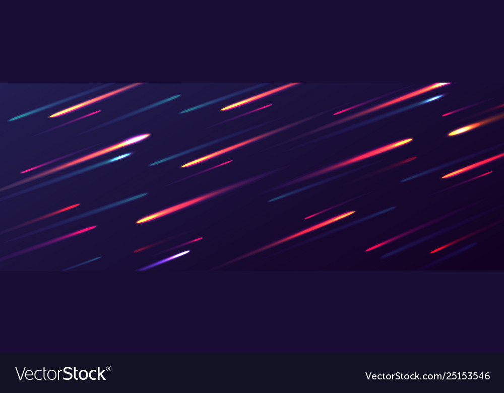 Abstract dynamic background glowing dots in