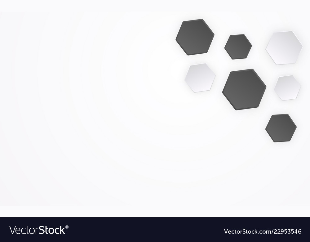 Abstract polygon like 3d football pattern