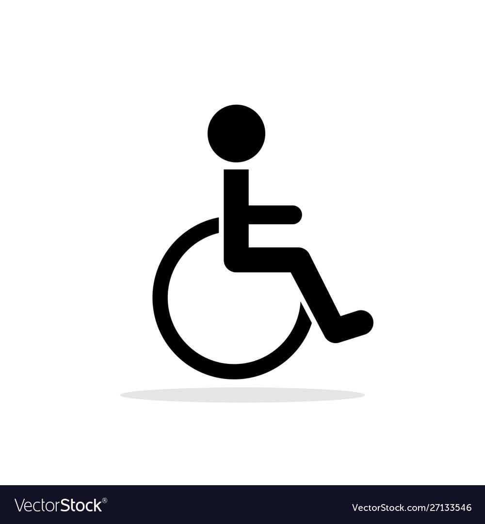 Disabled toilet icon