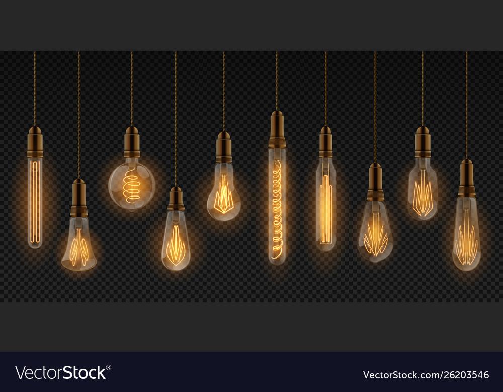 Realistic light bulb electric incandescent lamps