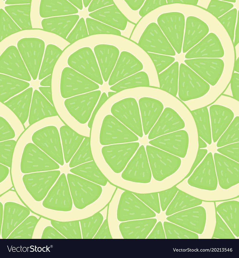 Wallpaper Lime Vector Image