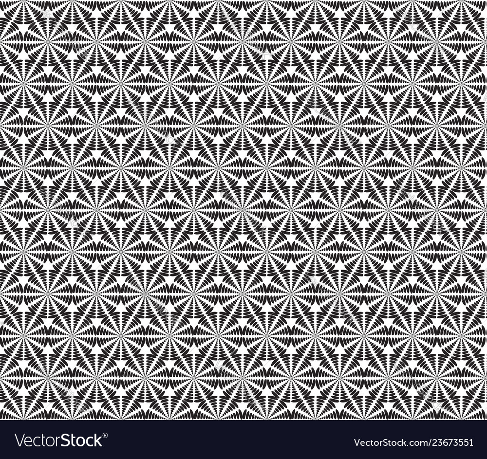 Abstact seamless pattern dotted line swirl