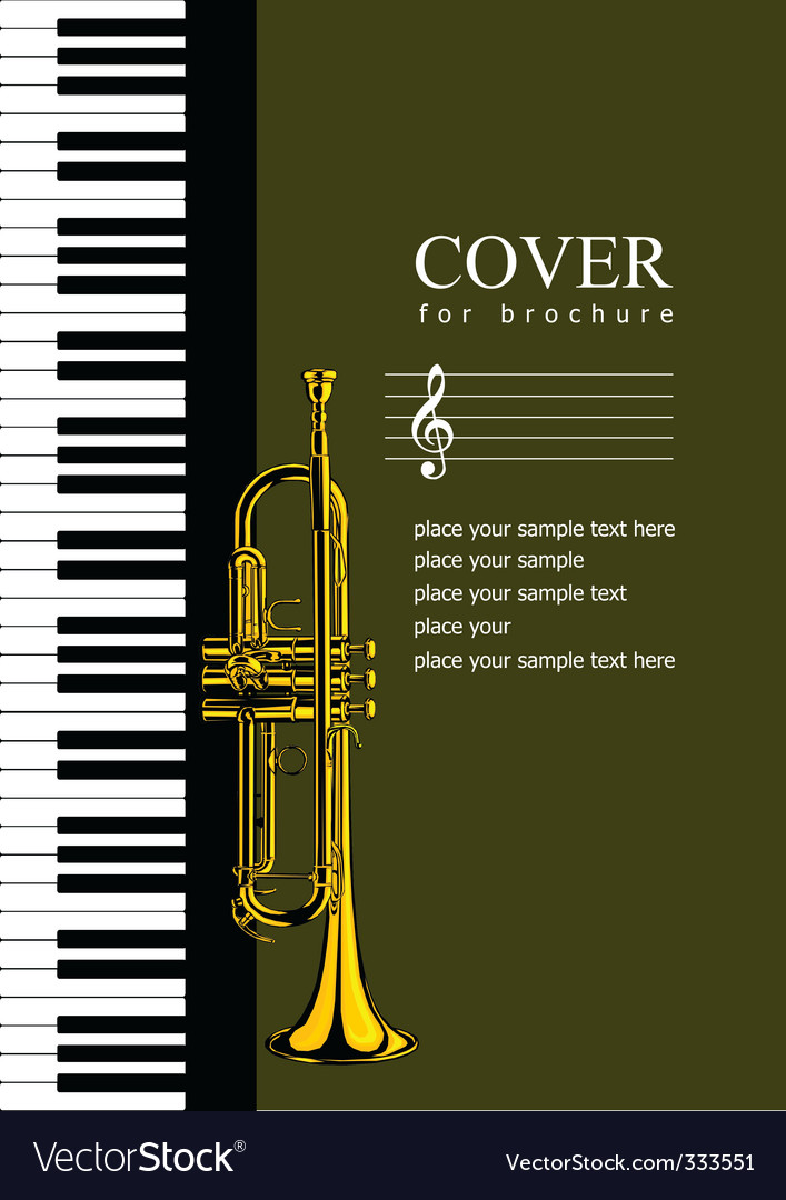 Music brochure cover