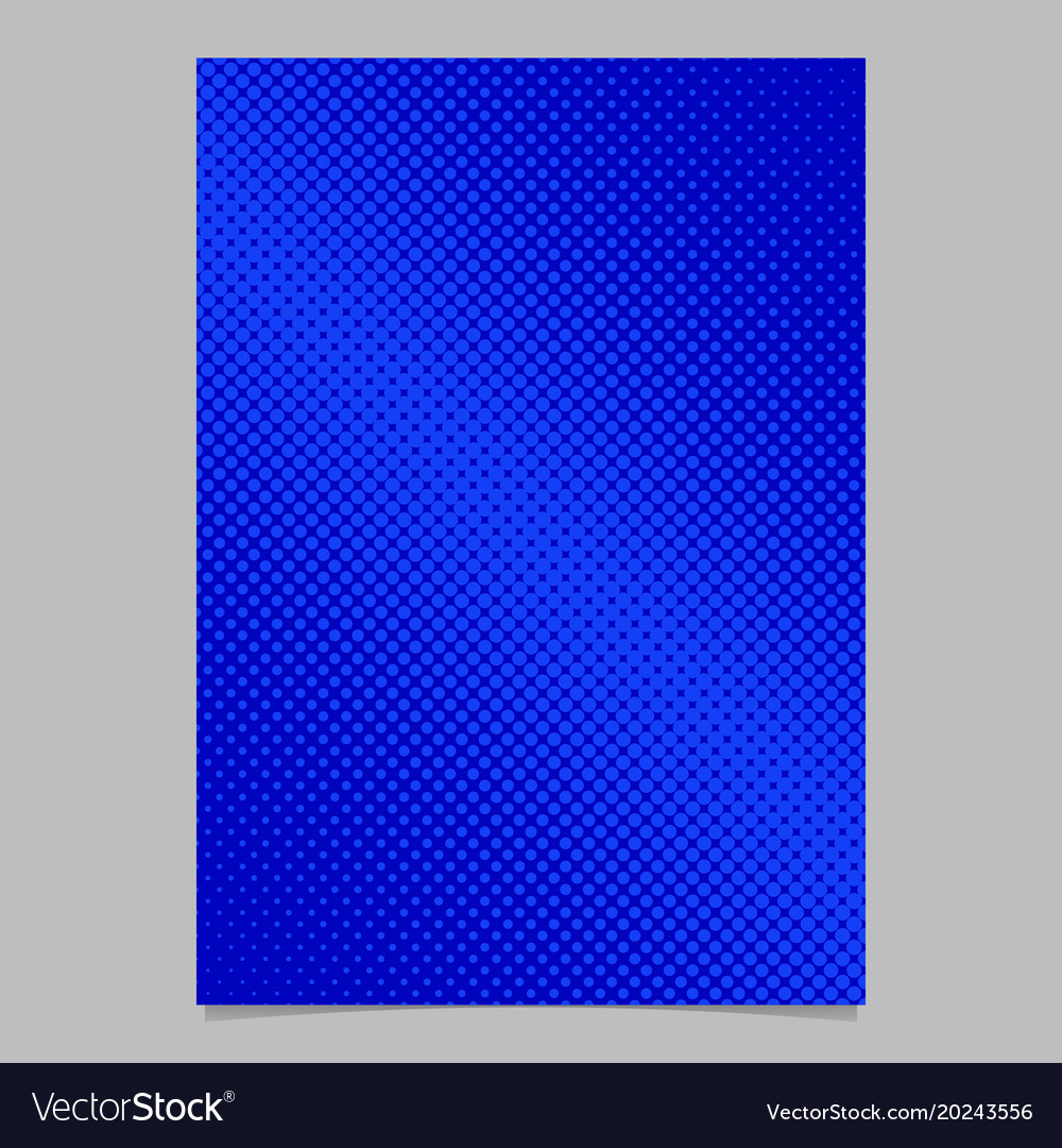 Abstract halftone circle pattern background page
