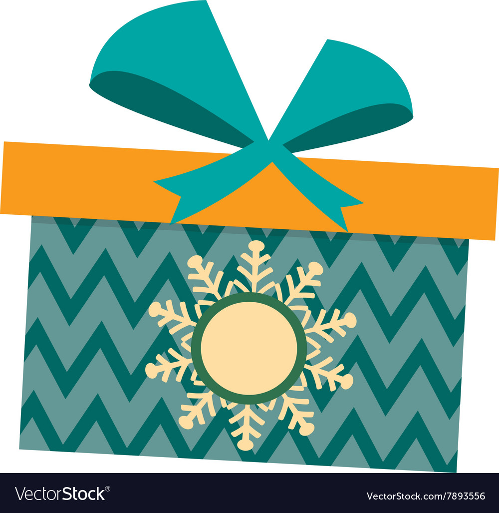 Gft box with ribbon