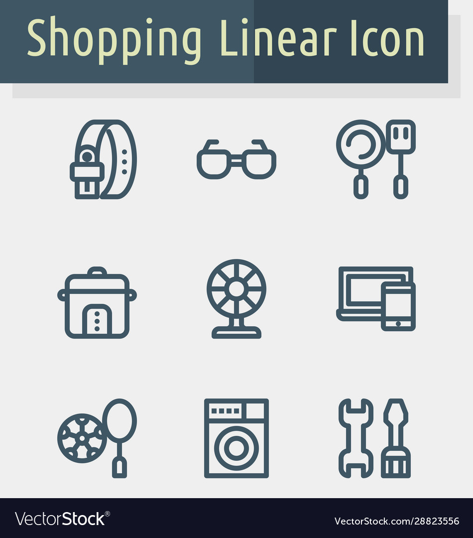 Shoping line icon2