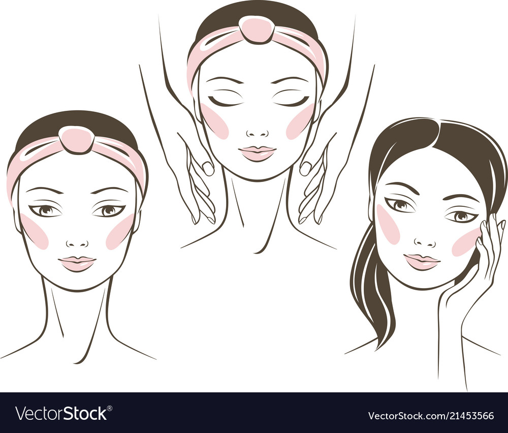 Beauty treatment in spa salon concept
