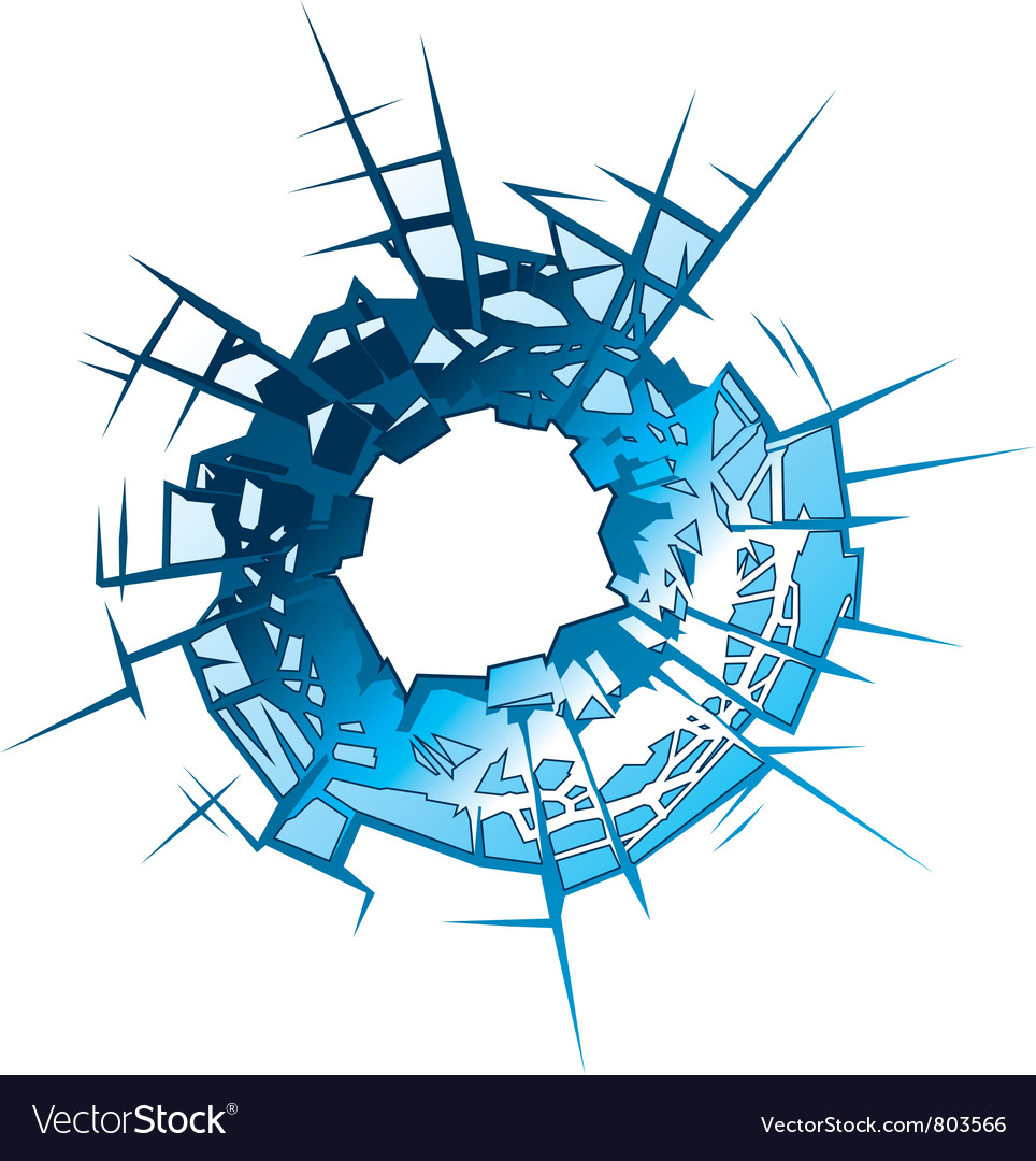 Bullet Hole vector image