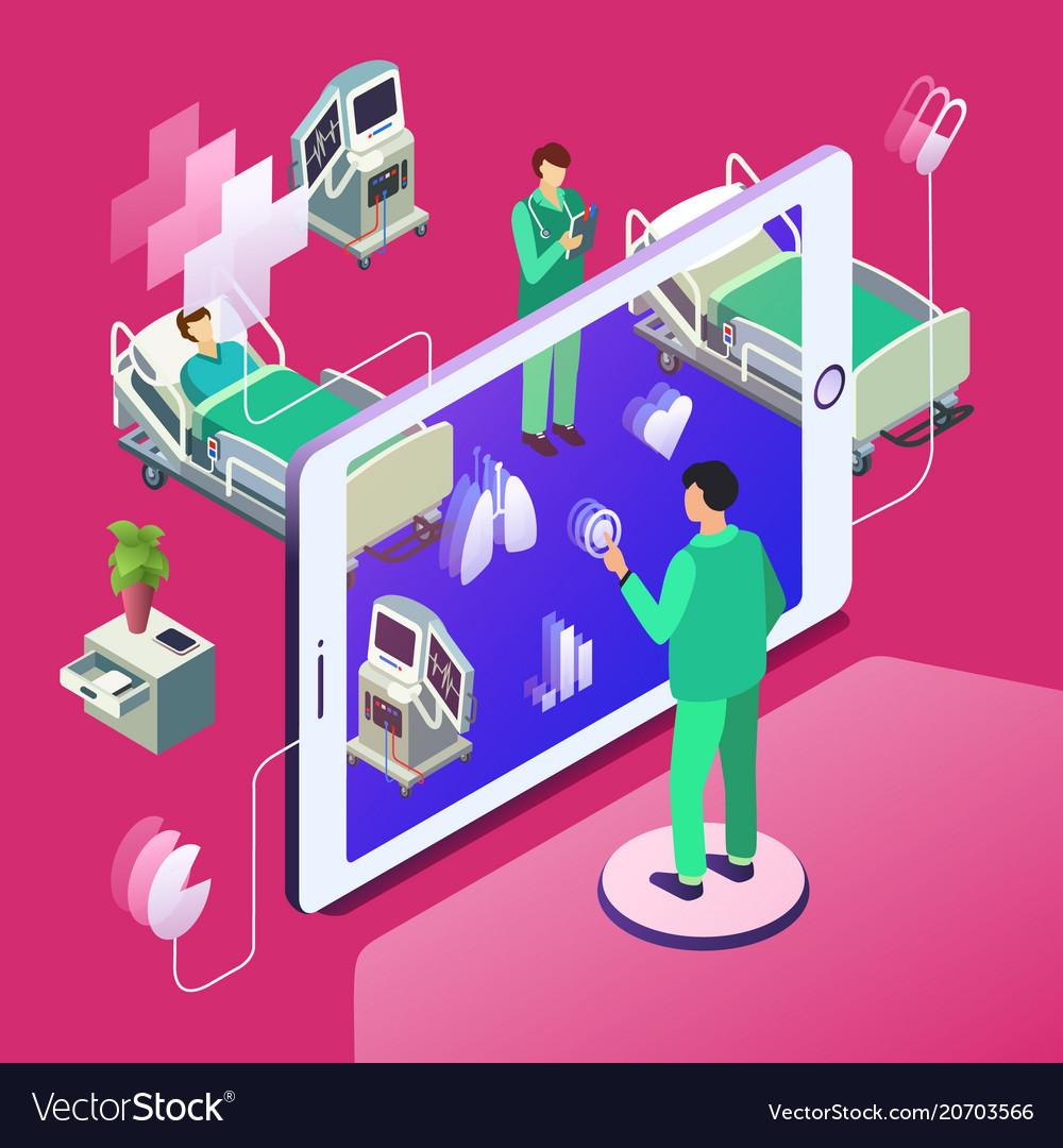 Isometric telemedicine online medicine