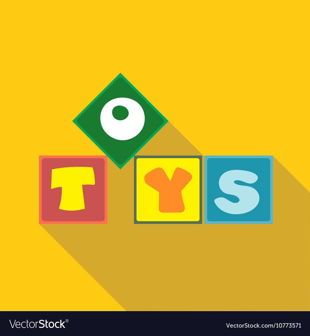 Digital toys box letters