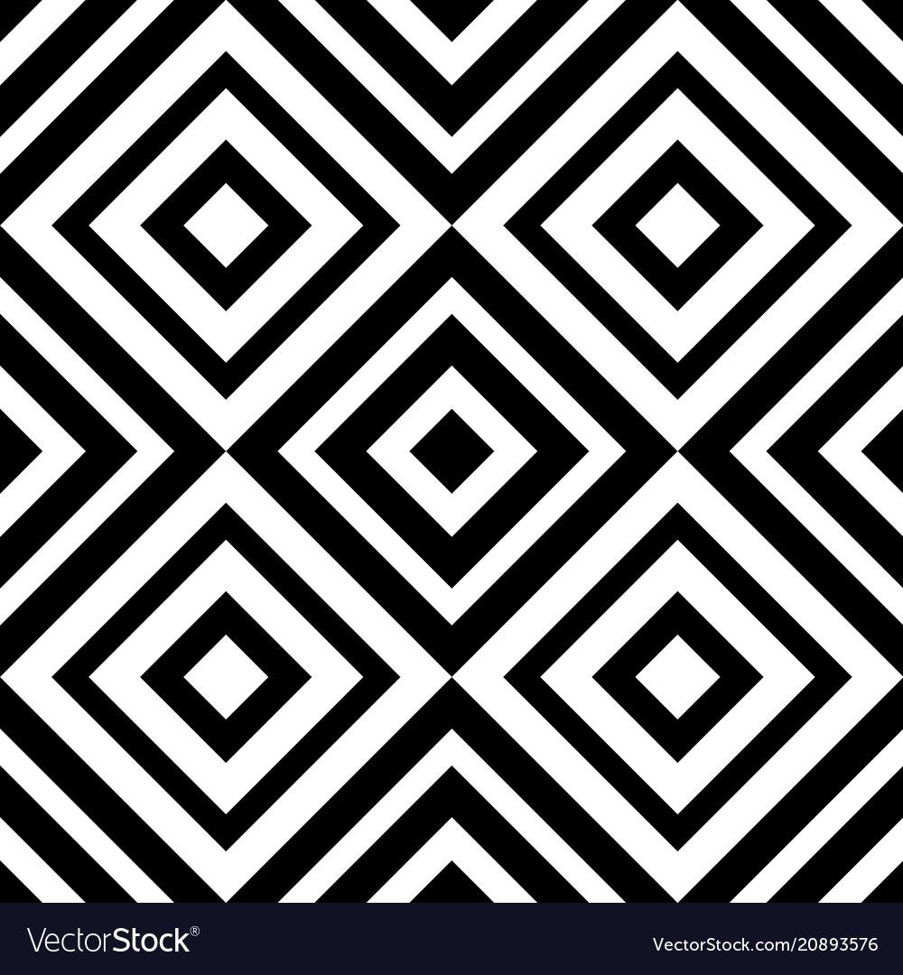 Abstract geometric seamless pattern rhombus