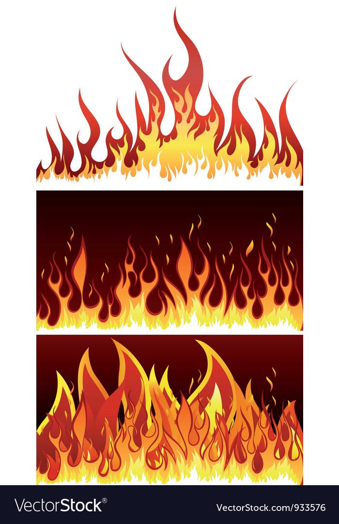 Fire backgr set