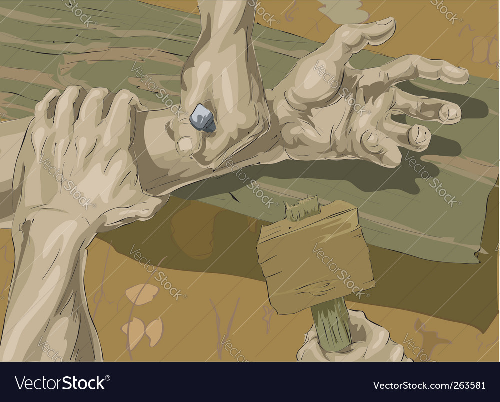 Crucifixion illustration