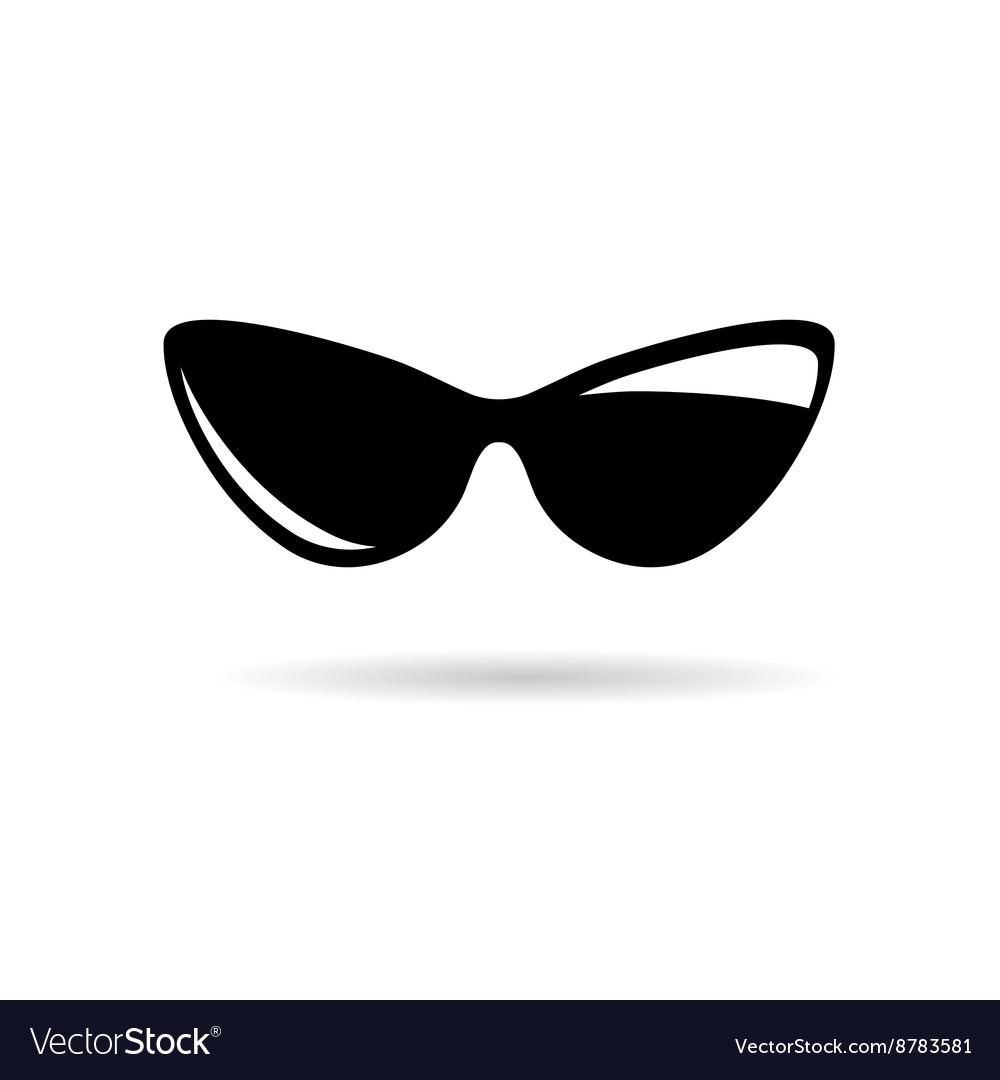 Sunglasses icon black