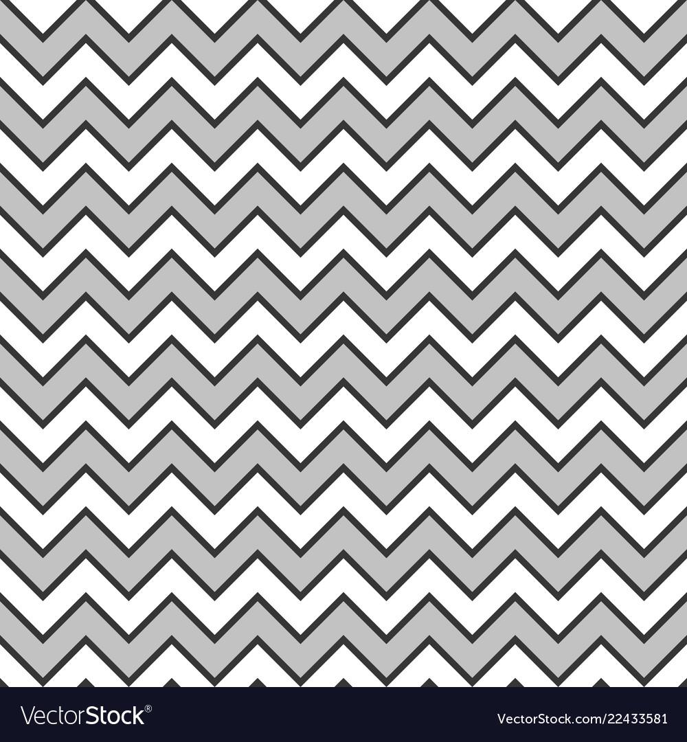 Zigzag wave pattern background monochrome colors