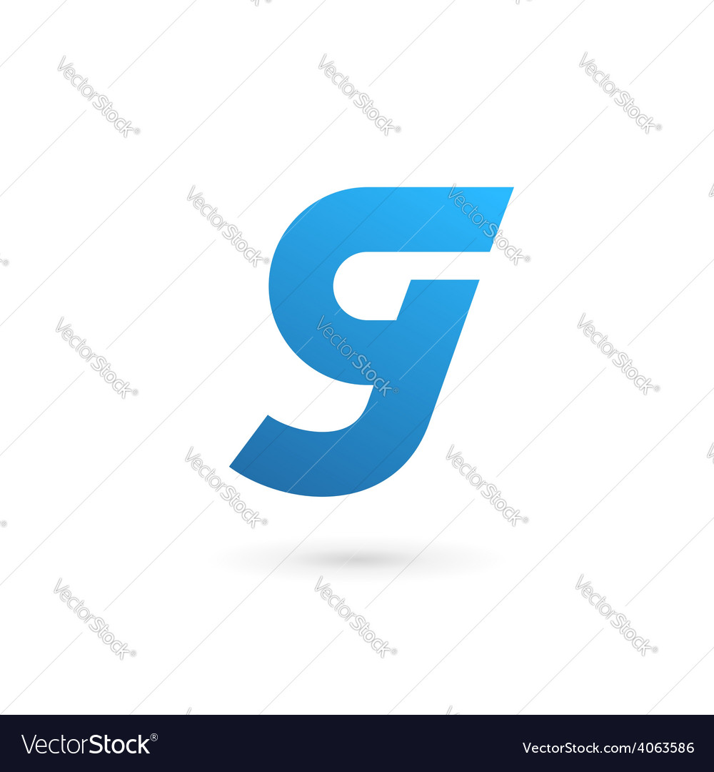 Letter G number 9 logo icon design template