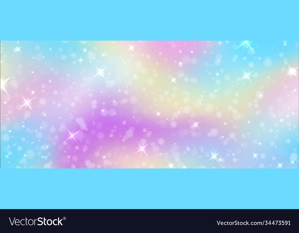Fantasy background rainbow unicorn sky texture