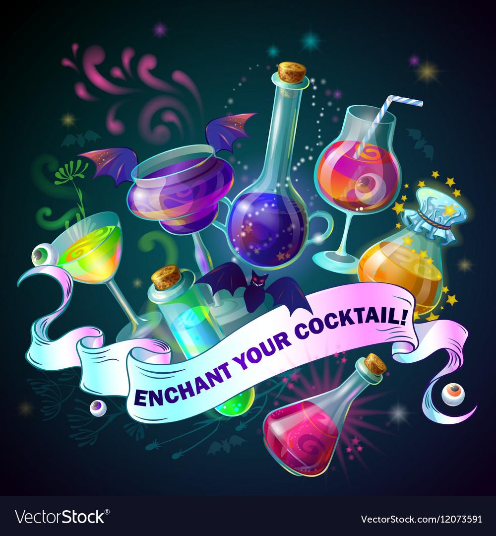 Magic Bottles Composition