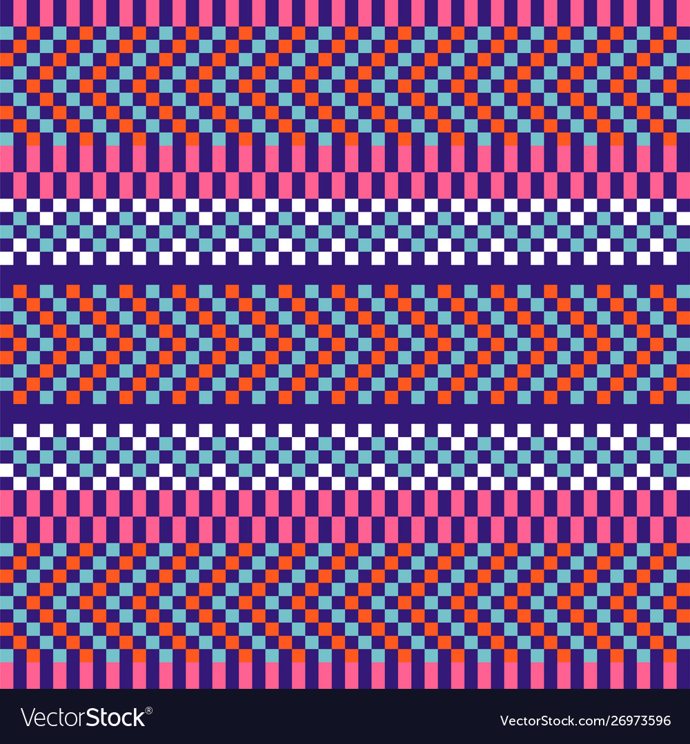 Geometric herringbone stripes seamless pattern vector