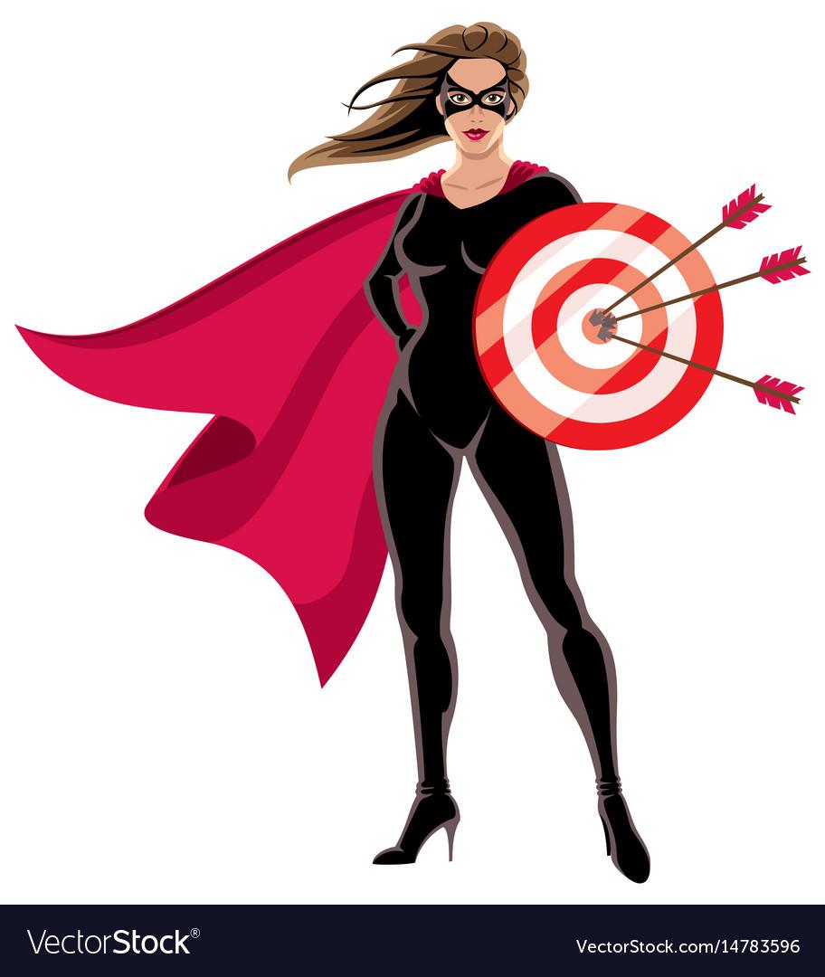 Super heroine target