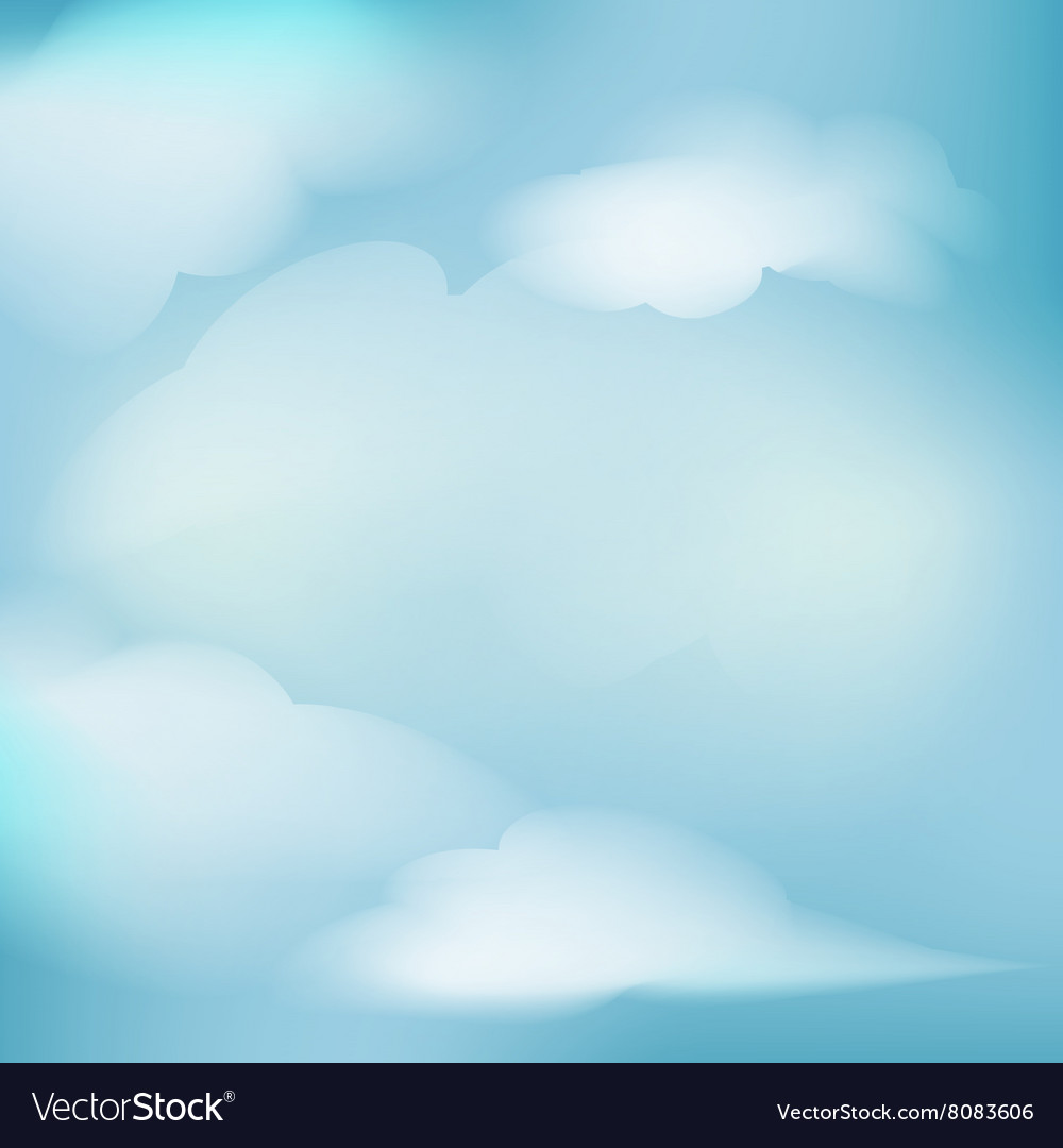 Background clouds for decoration